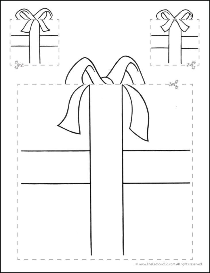 Catholic Scissor Simple Practice Cutting Worksheet Squares