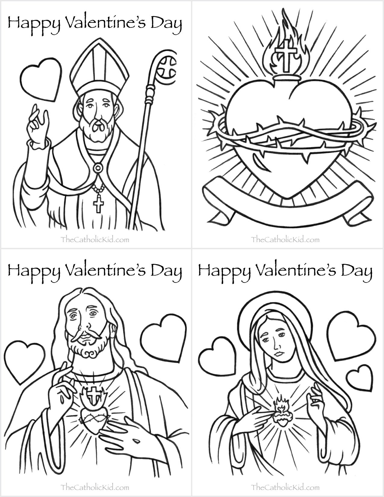 coloring pages for catholic preschoolers - photo#8