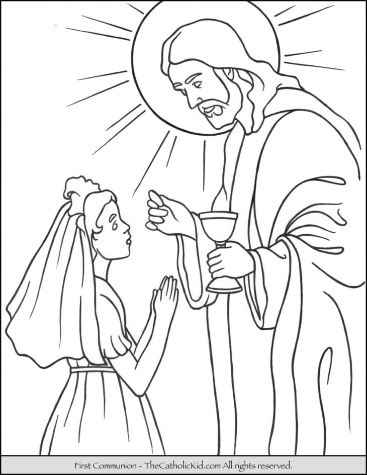 The Catholic Kid - Catholic Coloring Pages and Games for Children