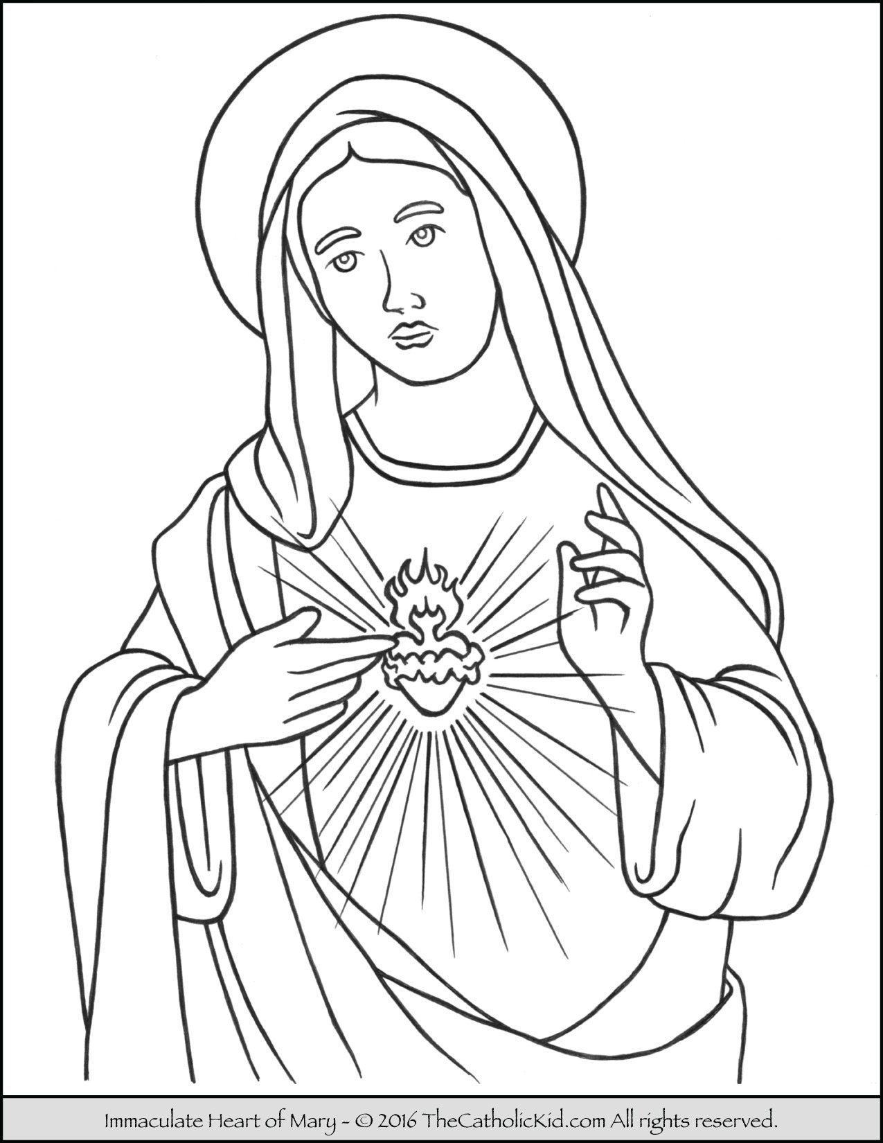 coloring sheet of mary mcleod coloring pages
