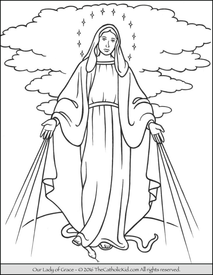 Catholic Coloring Pages Games