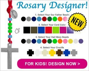 Custom Rosary Designer For Kids