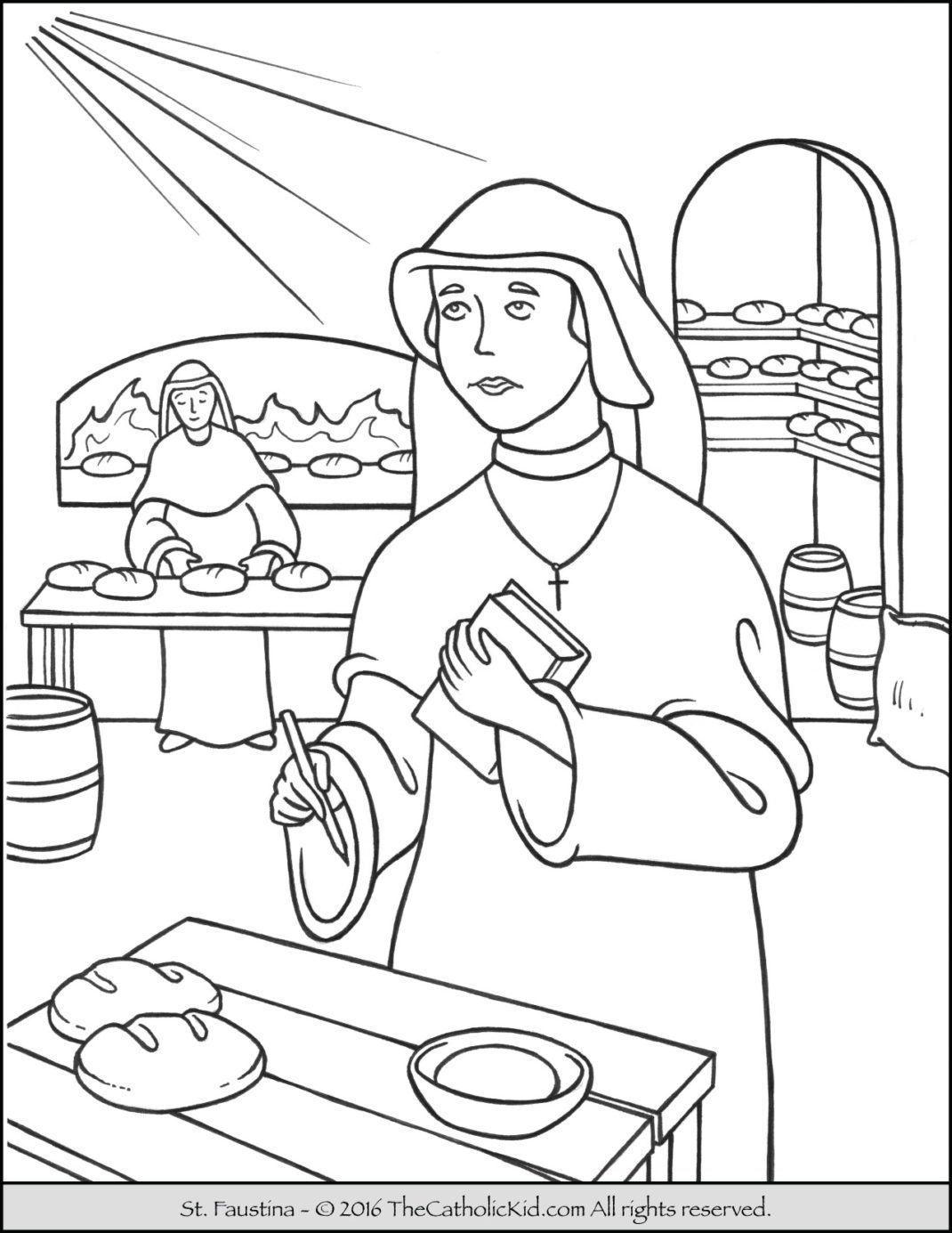 Glorious Mysteries Rosary Coloring Pages The Catholic Kid - oukas.info
