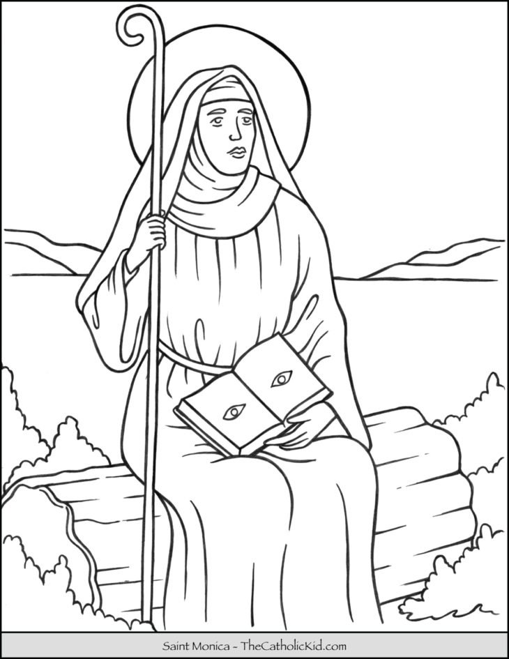 coloring pages for catholic preschoolers - photo#46