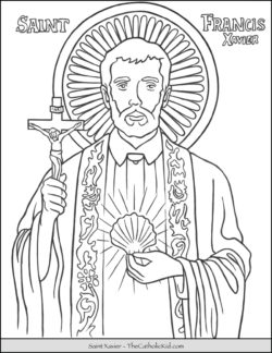 Free Printable Catholic Coloring Pages For Kids The