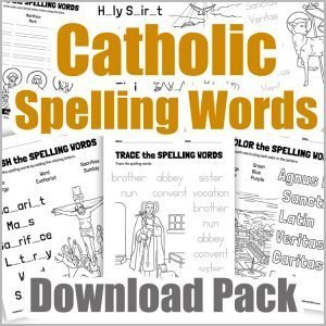 Catholic Spelling Words