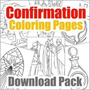 Confirmation Coloring Pages Download Pack
