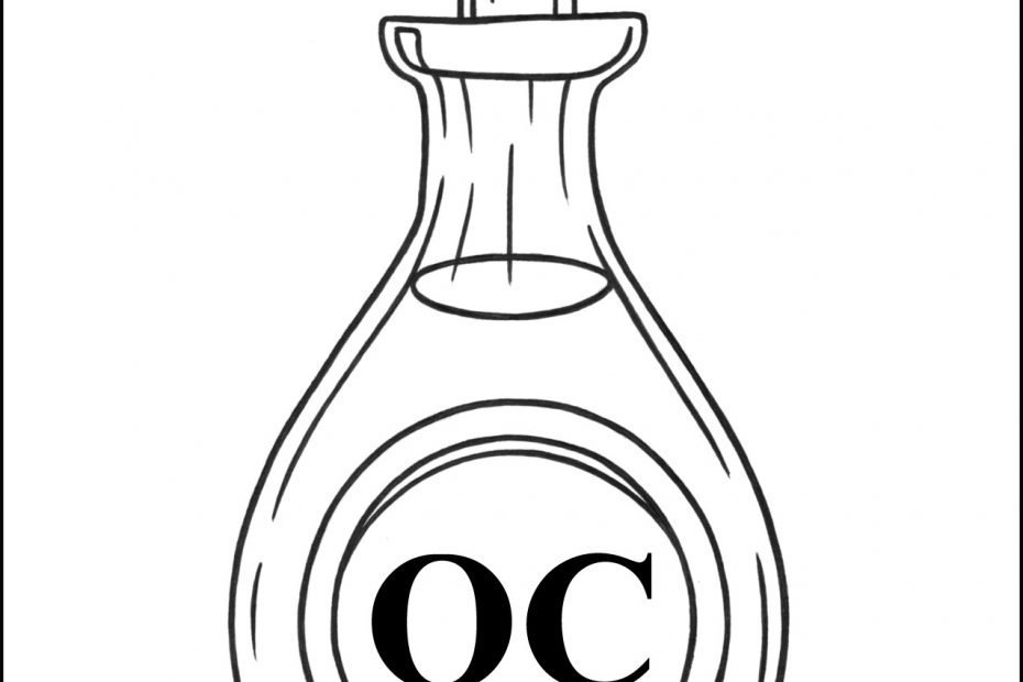 Oil of Catechumens Coloring Page