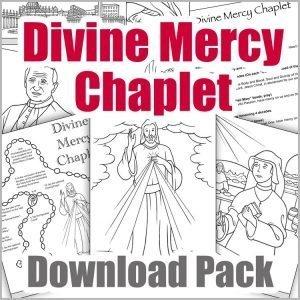 Divine Mercy Chaplet Download Pack