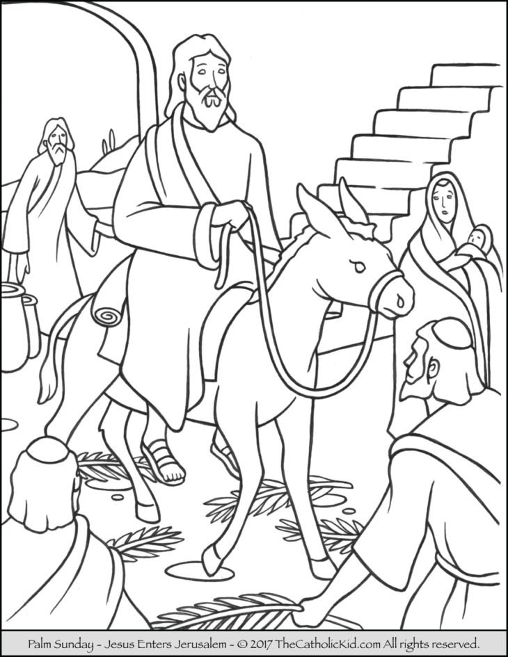 Holy Week Archives The Catholic Kid Catholic Coloring Pages And Games For Children