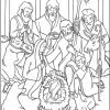 Joyful Mysteries Rosary Coloring Pages - Nativity