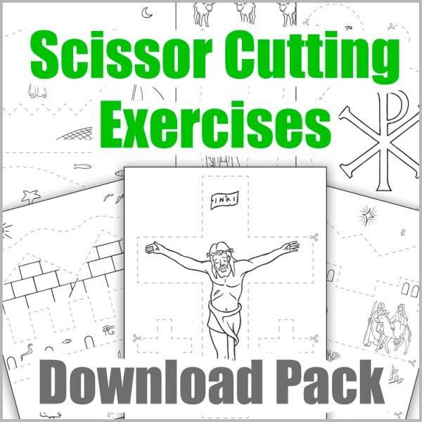 Scissor Cutting Exercises Download Pack