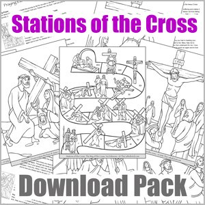 Stations of the Cross for Kids - Download Pack